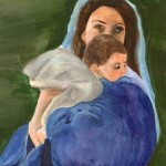 Madonna and Child by Elaine Golden