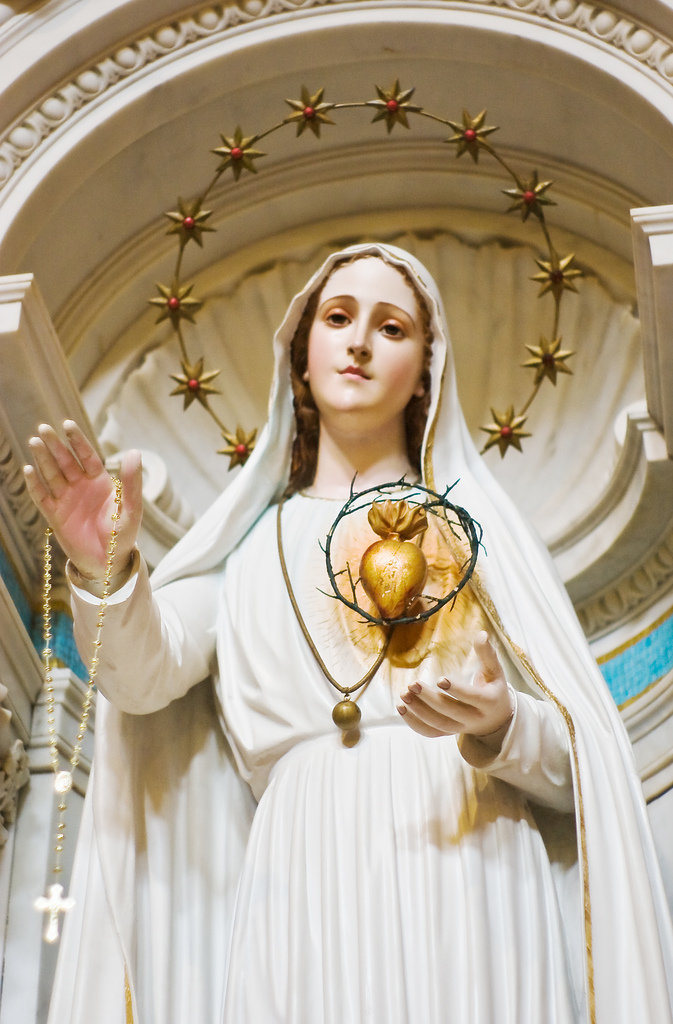 """In the end my Immaculate Heart will triumph..."""