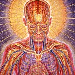 """Praying"" by Alex Grey, New Age Artist Extraordinaire"