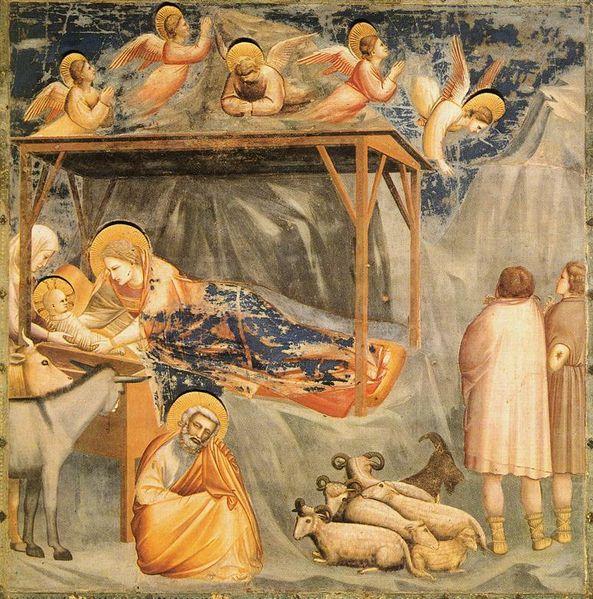 Giotto's nativity