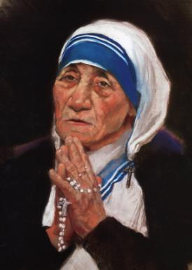 Mother Teresa Praying