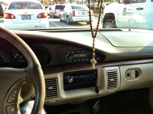 Rosary Car