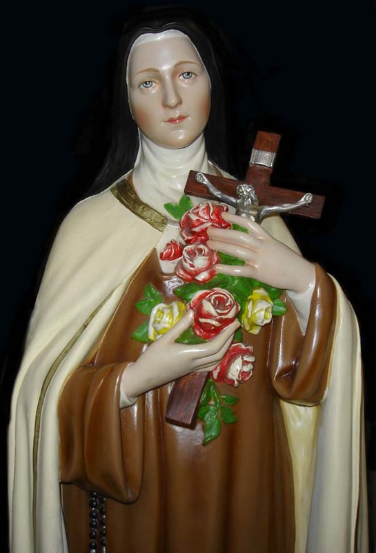 Statue of St Therese of the Child Jesus