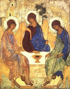 The Trinity, Andrei Rublev (c. 1410)