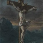 Christ on the Cross Delacroix