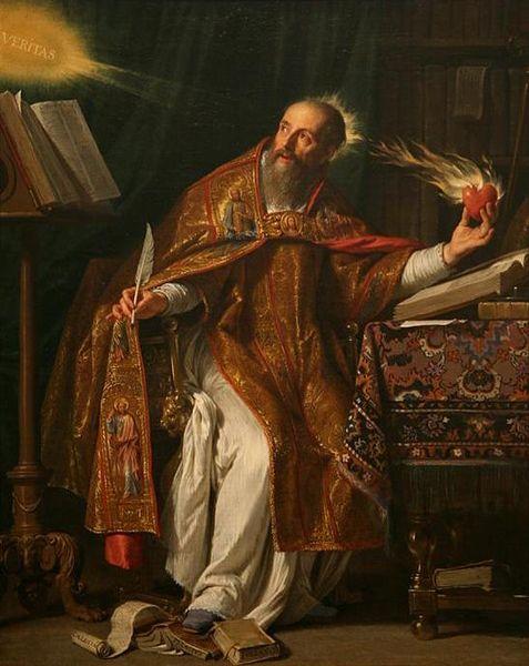 Saint Augustine of Hippo by Philippe de Champaigne