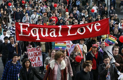 Equal Love Protest