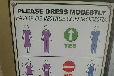 Modesty. A Sign of Respect for Men and Women.