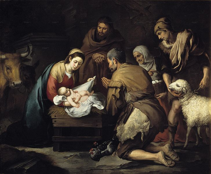 "Bartolomé Esteban Murillo's ""Shepherds' Adoration"""