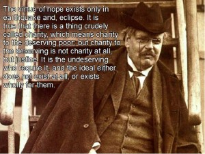 CHesterton-on-charity