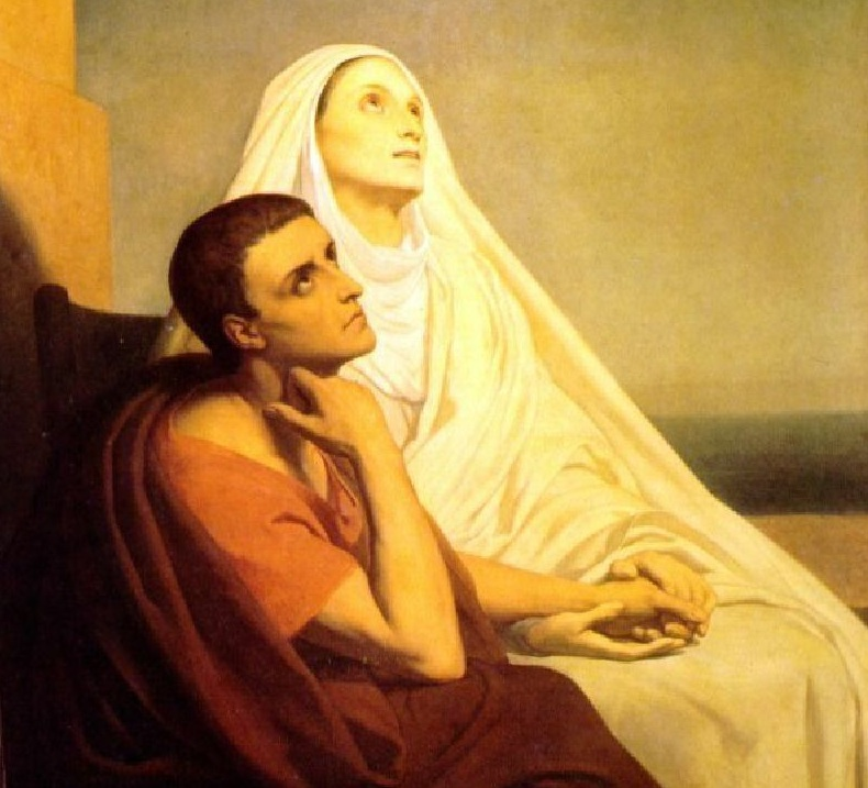 St. Monica, Model Wife and Mother