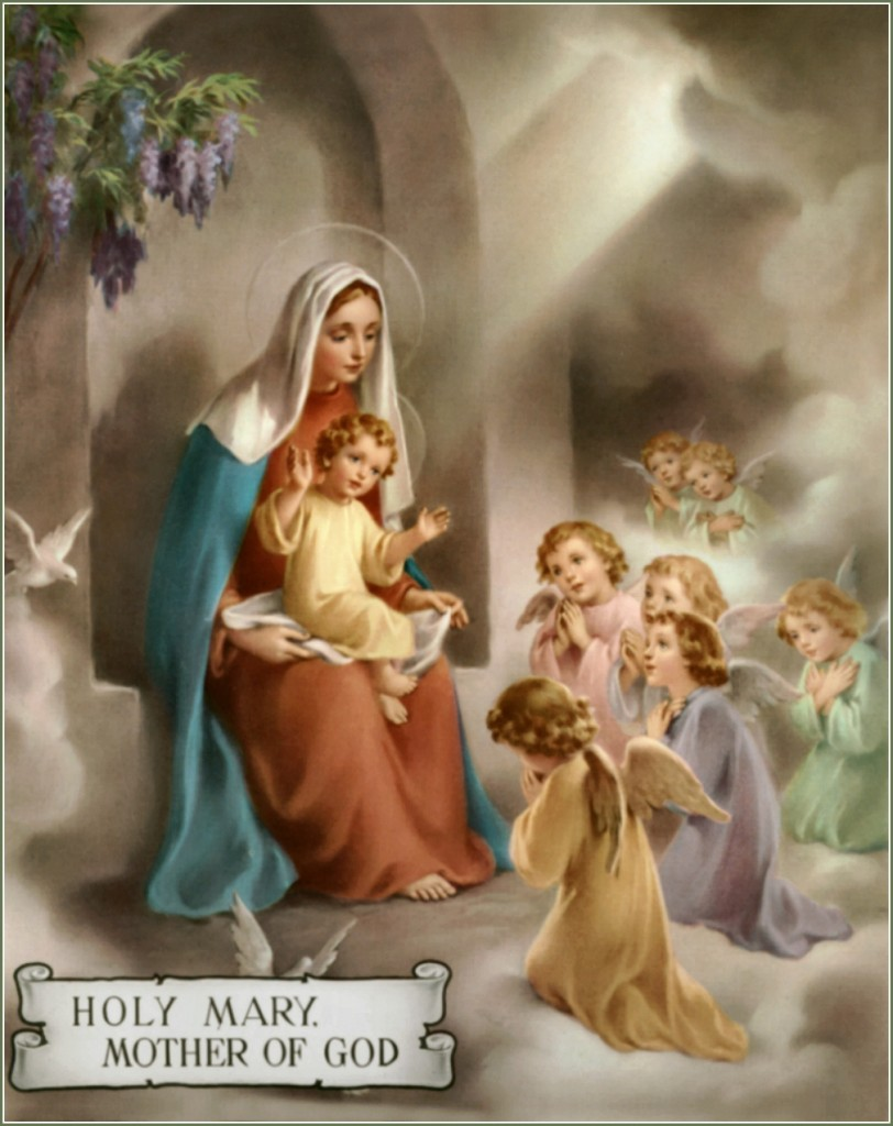Blessed Mother Mary And Jesus What is Hail Ma...