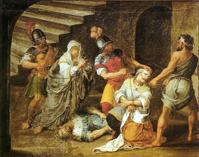 Judas Maccabeus' death
