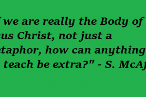 "Catholics and the ""Extra Stuff"""