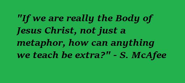 "Catholics and the ""Extra Stuff"""