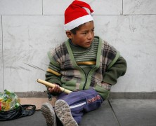Celebrating Christmas on the Streets