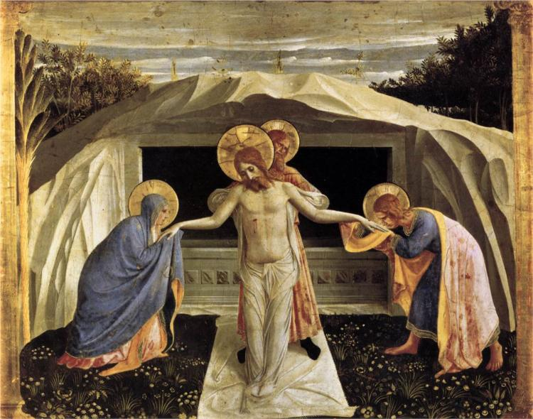 Fra Angelico, Entombment, 1440