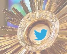 Tweeting While in the Adoration Chapel…