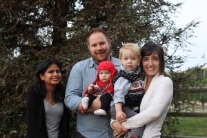 Raising family and tiny homes