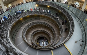 Spiral Staircase at the Vatican Museums © User:Colin / Wikimedia Commons, via Wikimedia Commons