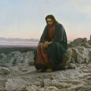 christ praying
