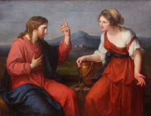 Angelica Kauffman, Christus und die Samariterin am Brunnen (1796)