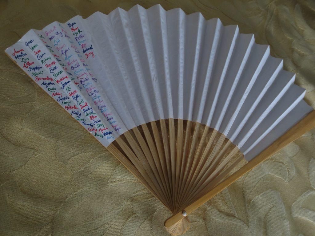 prayer fan
