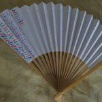 Making a Prayer Fan: Sacramentals