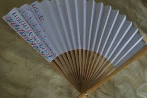 Making a Prayer Fan: Sacramentals