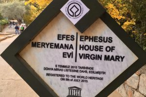 Not Alone: At the House of Mary Near Ephesus