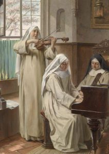 August Wilhelm Roesler, Music in the Monastery