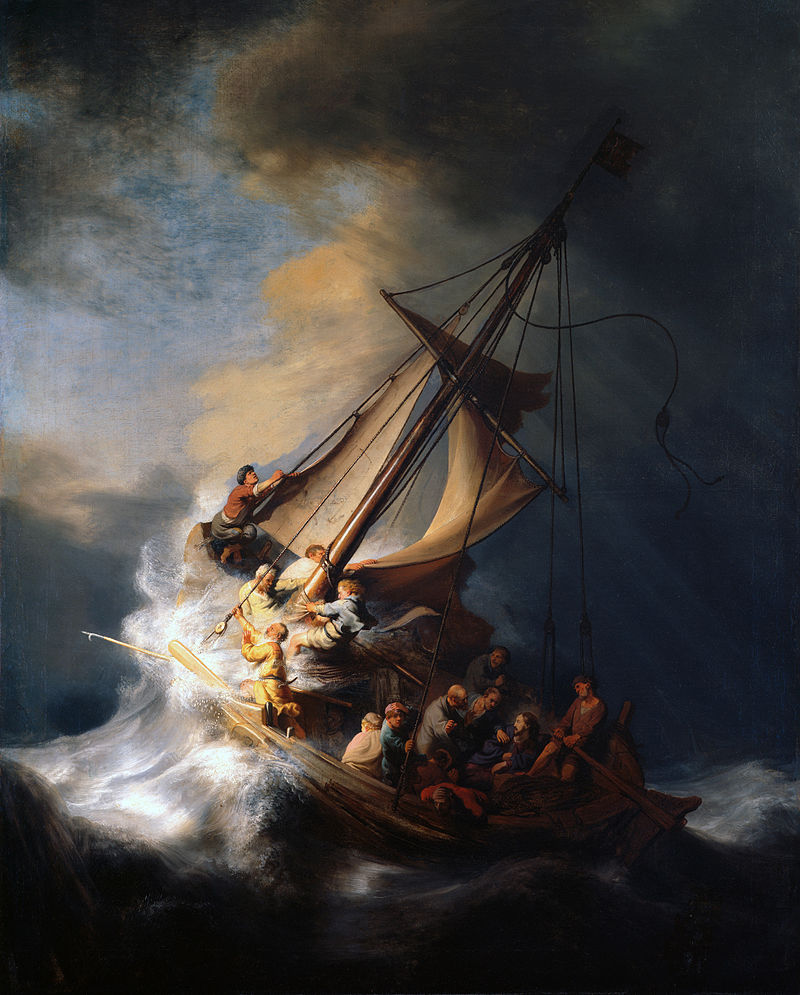 The Storm on the Sea of Galilee, Rembrandt (1632)