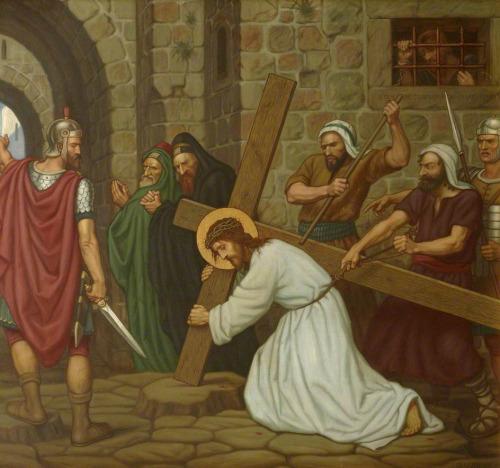 Jesus Falls beneath the Cross – Edward Arthur Fellowes Prynne, 1919 St Stephen's House, University of Oxford