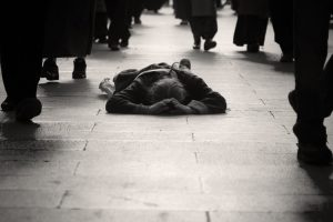 The Beggar on the Bus